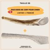 Pack bois de cerf taille XS