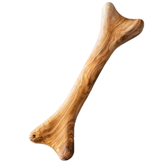 Os à mâcher pour chien en bois d'olivier