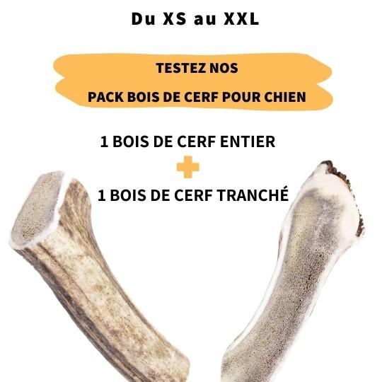 Pack bois de cerf du XS au XXL